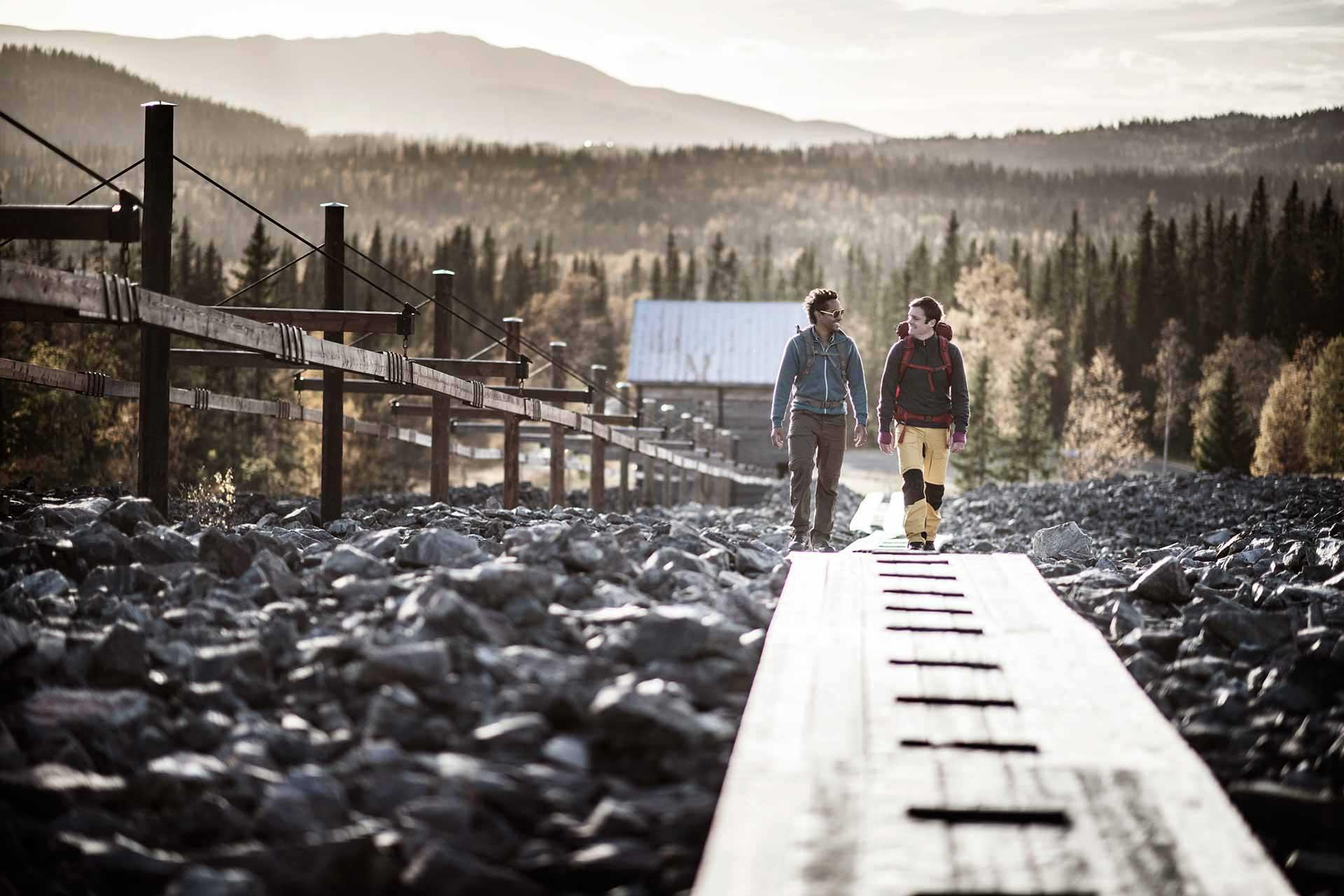 Hiking at Fröå Gruva, Åre | Photo: Sandra Lee Pettersson