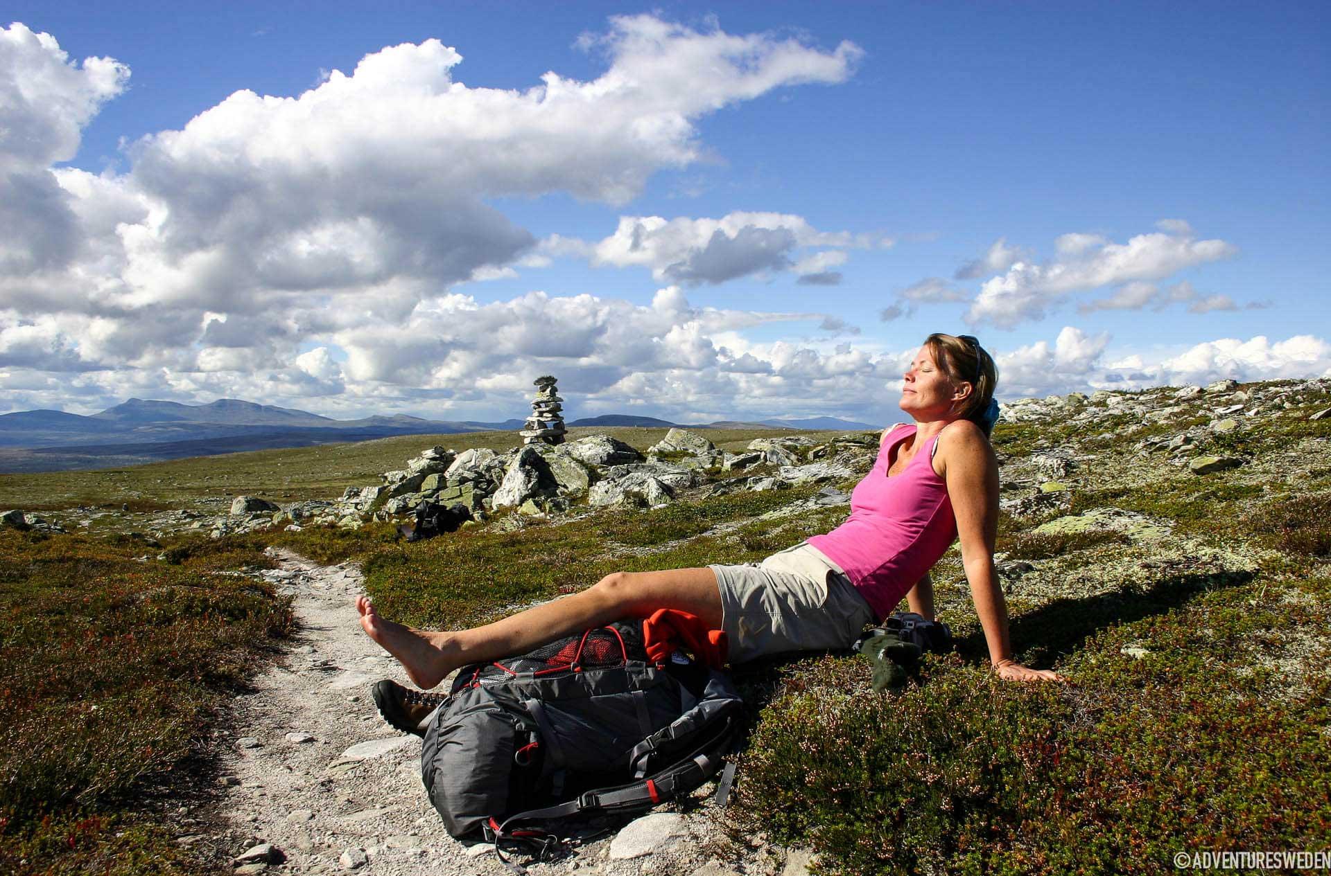 Hiking in Rogen | Photo: Lena Hedman
