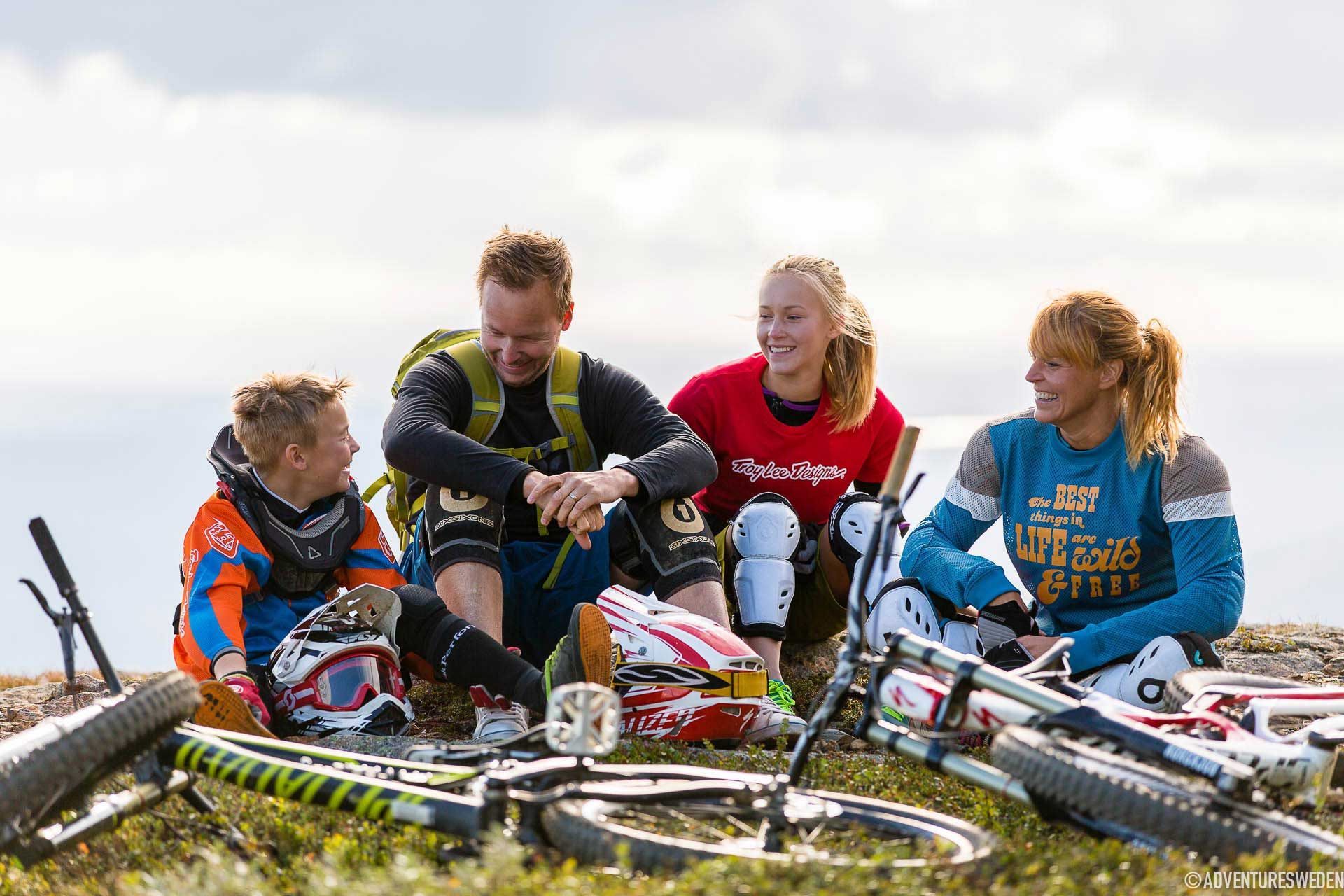 Downhill, cykling i Åre | Foto: Niclas Vestefjell