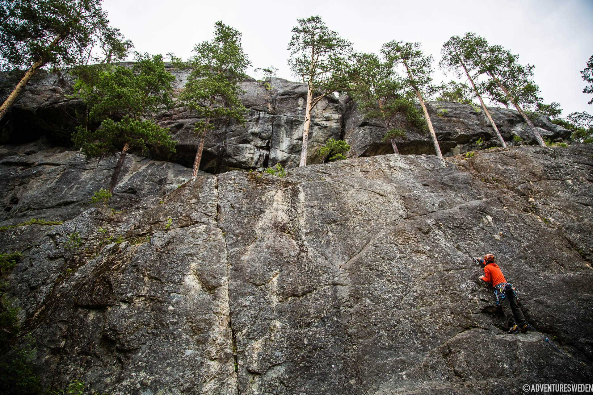 Klättervägg i Stugun | Foto: Anette Andersson