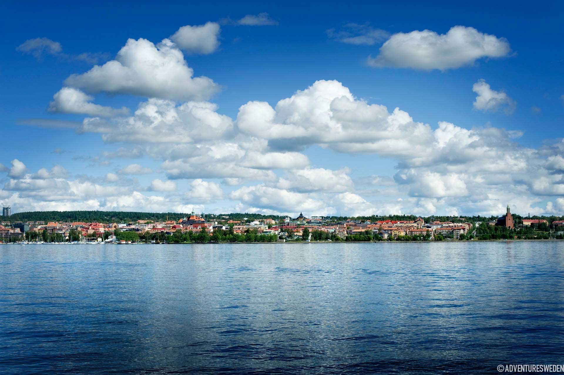 Vy över Östersund | Foto: Sandra Lee Pettersson