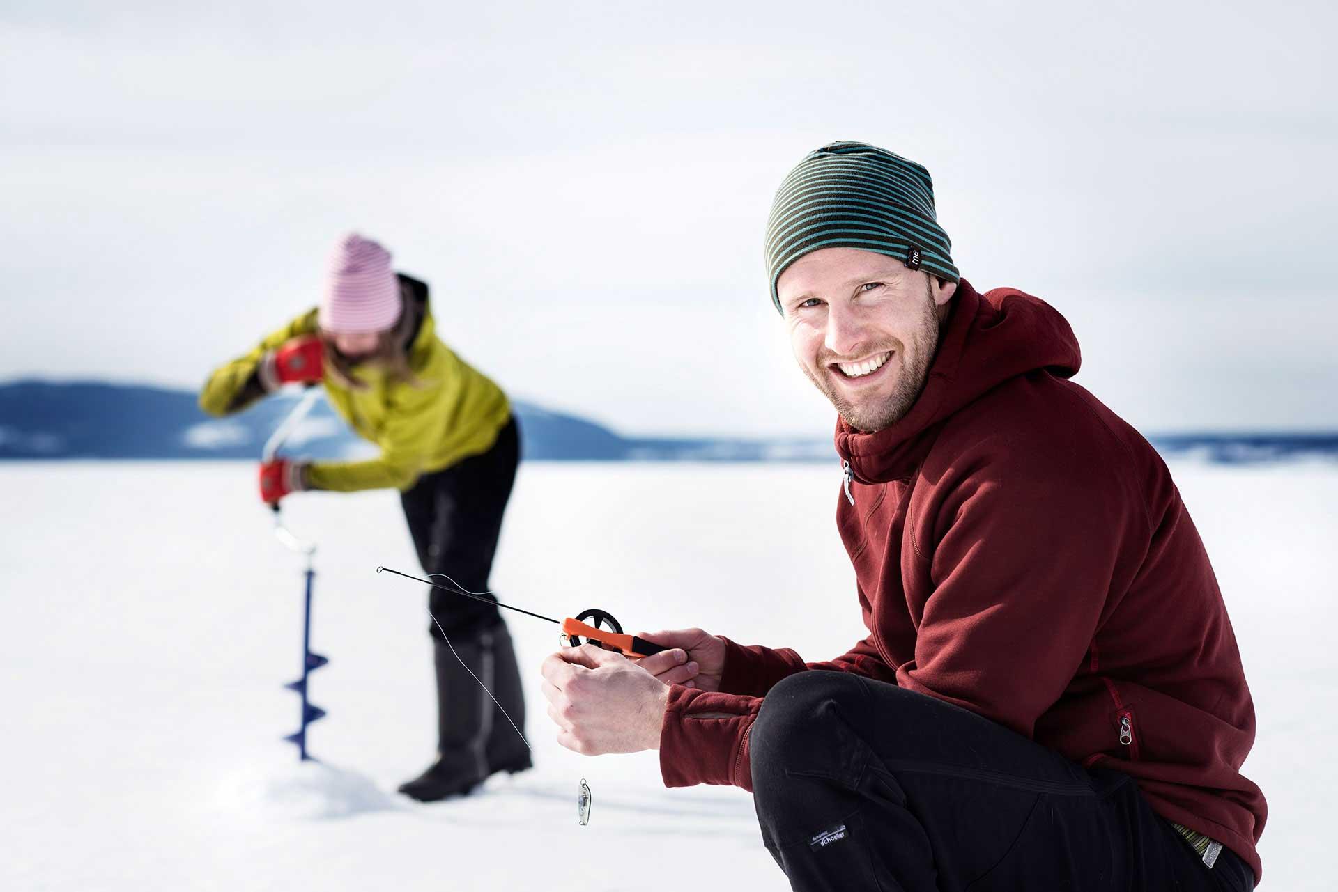 Pimpla – isfiske i Jämtland Härjedalen | Foto: Sandra Lee Pettersson
