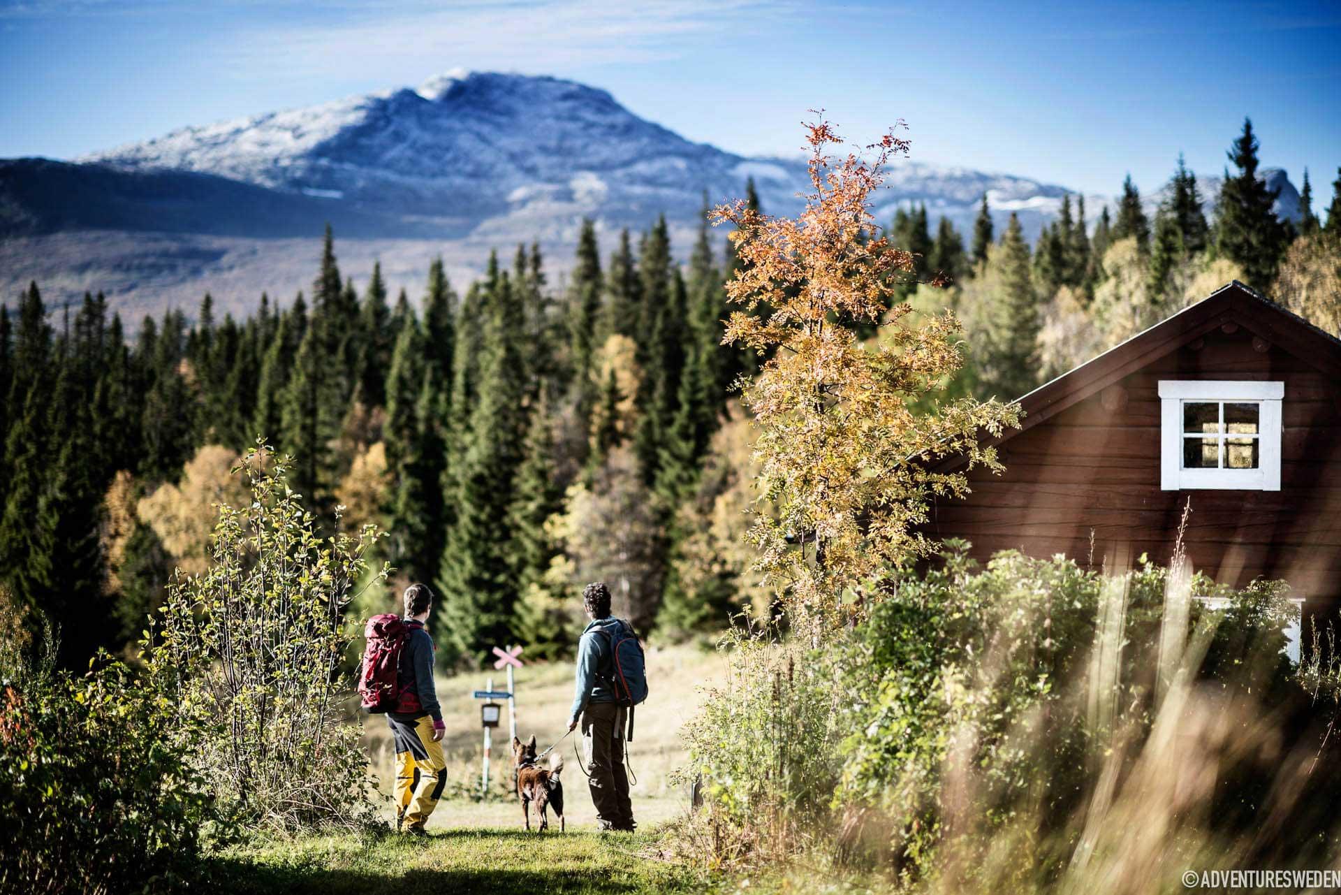 Vandring vid Fröå Gruva, Åre | Foto: Sandra Lee Pettersson