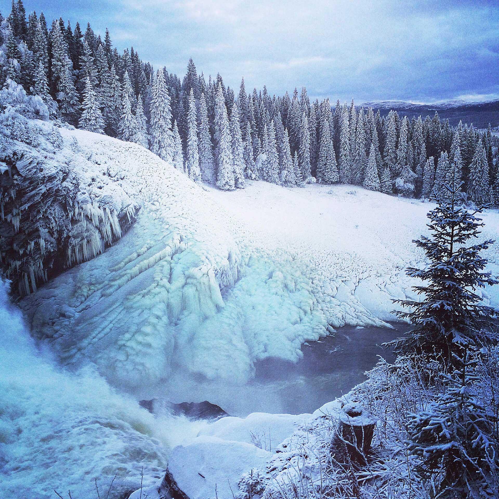Tännforsen – vattenfall | Foto: Roger Strandberg