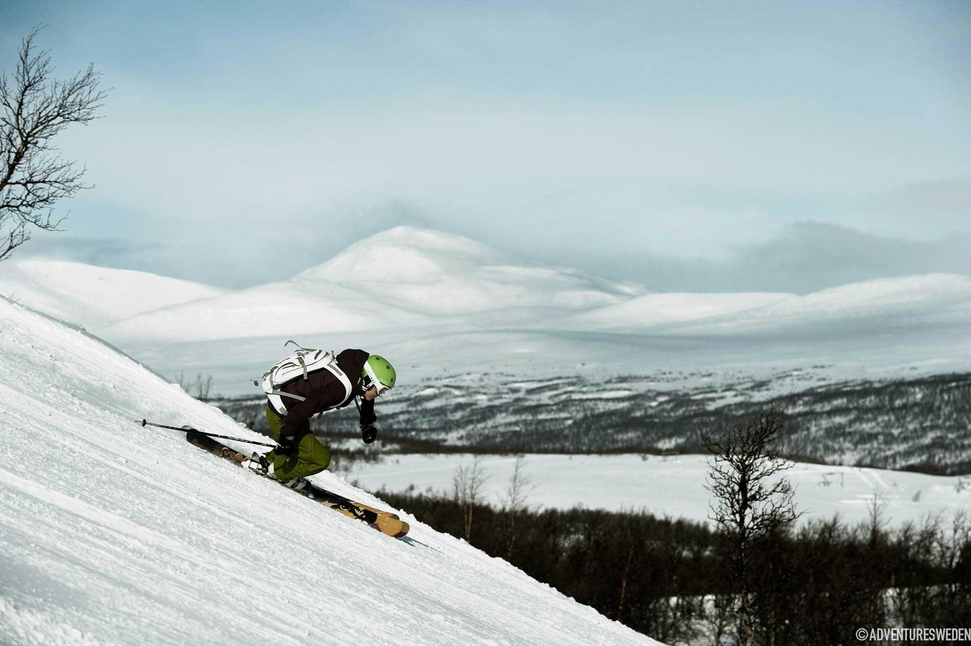 Skidåkare i Funäsfjällen | Foto: Martin Söderqvist