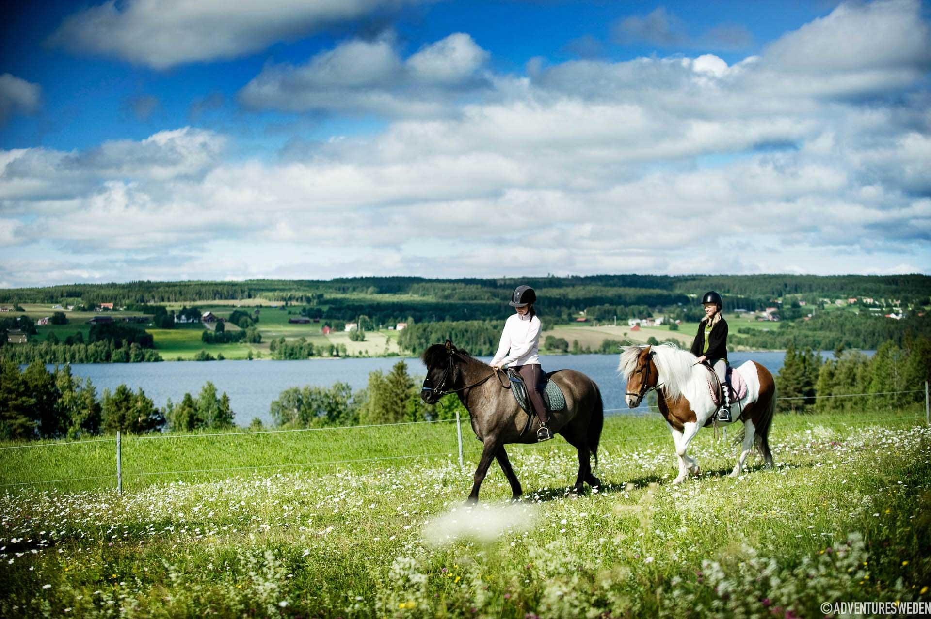Hästridning Storsjöbygden Sandra Lee Petersson