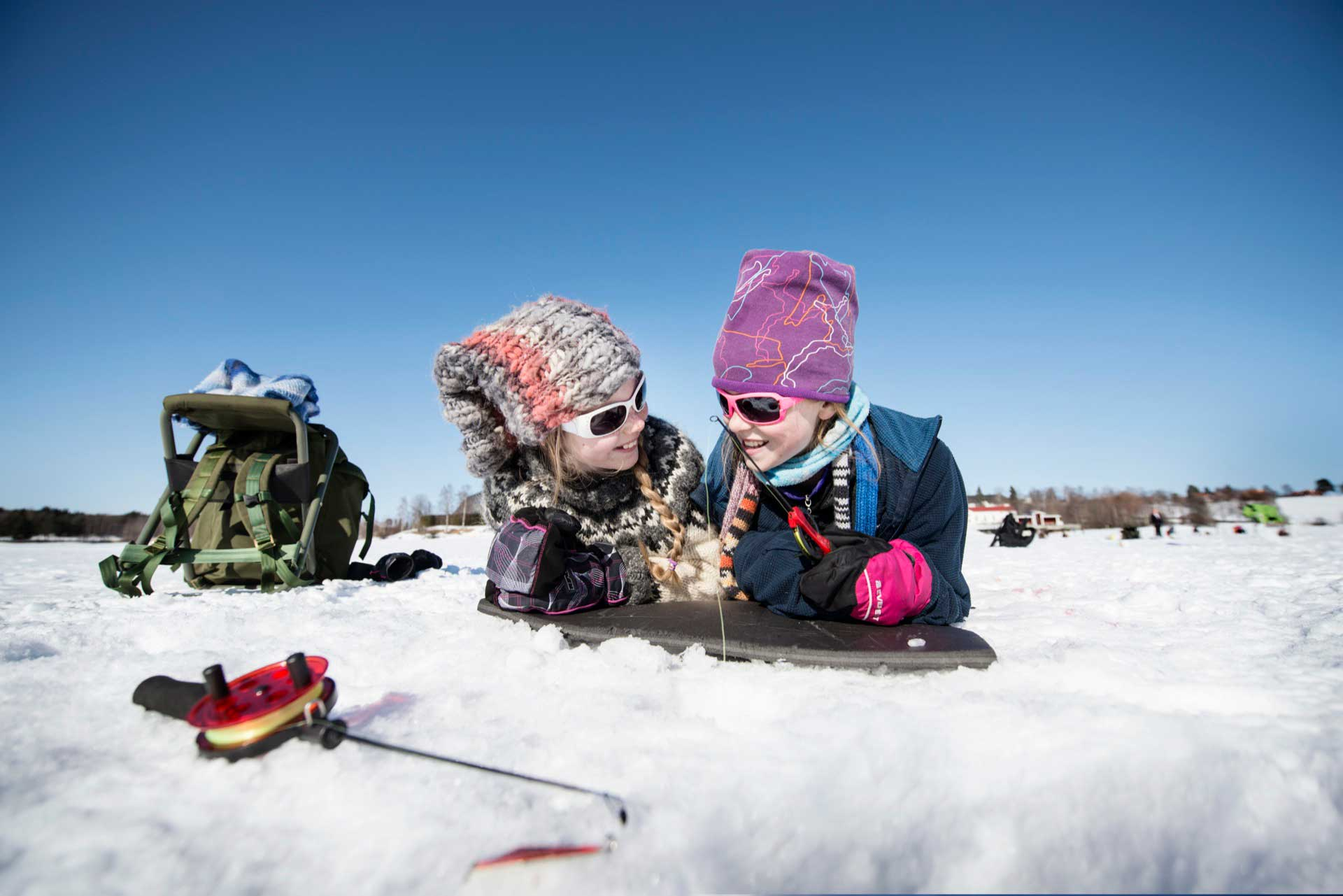 Winter Fishing in Sweden | Photo: Sandra Lee Pettersson