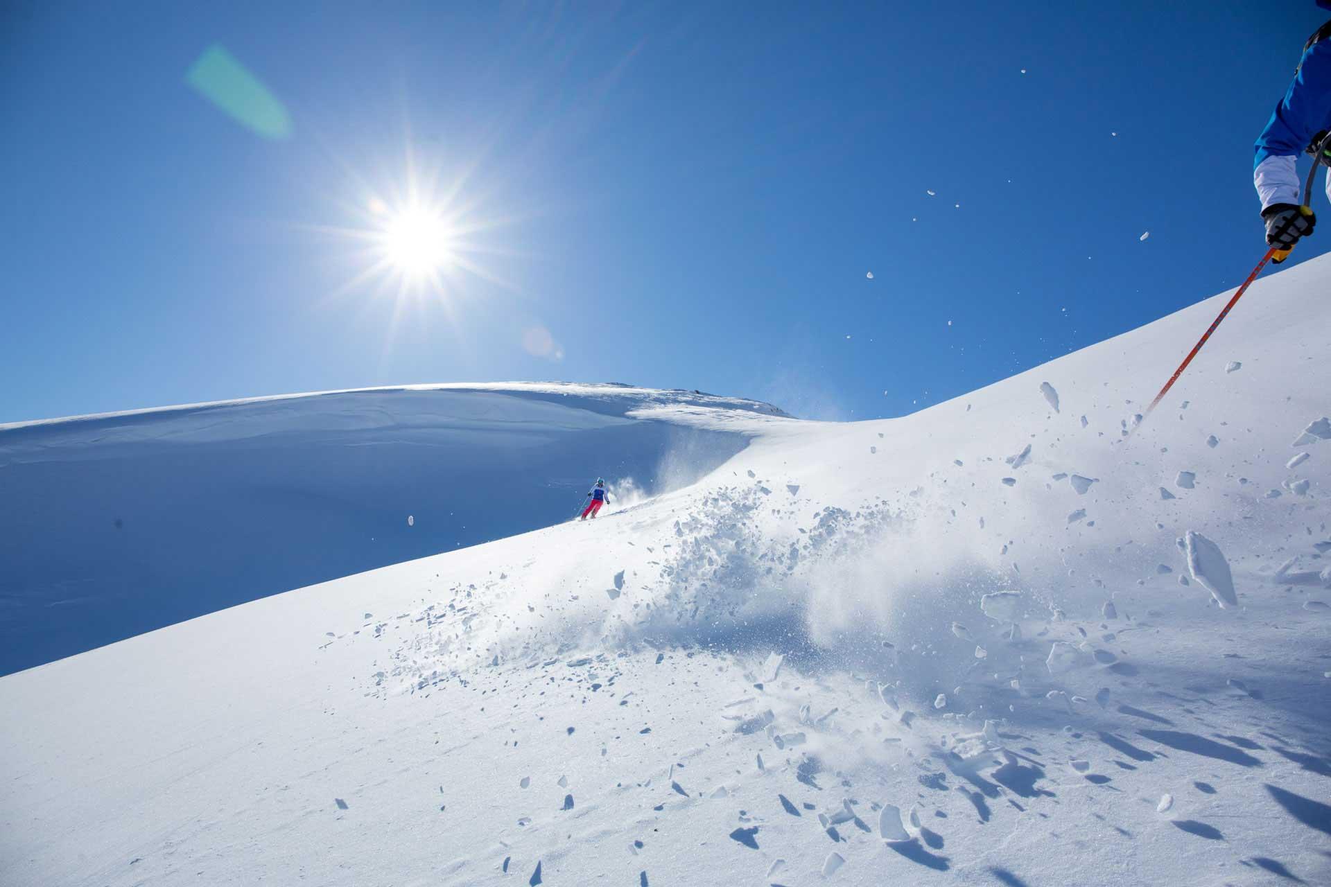 Skiing in Sweden   Photo: Mark Going, Columbia Sportswear