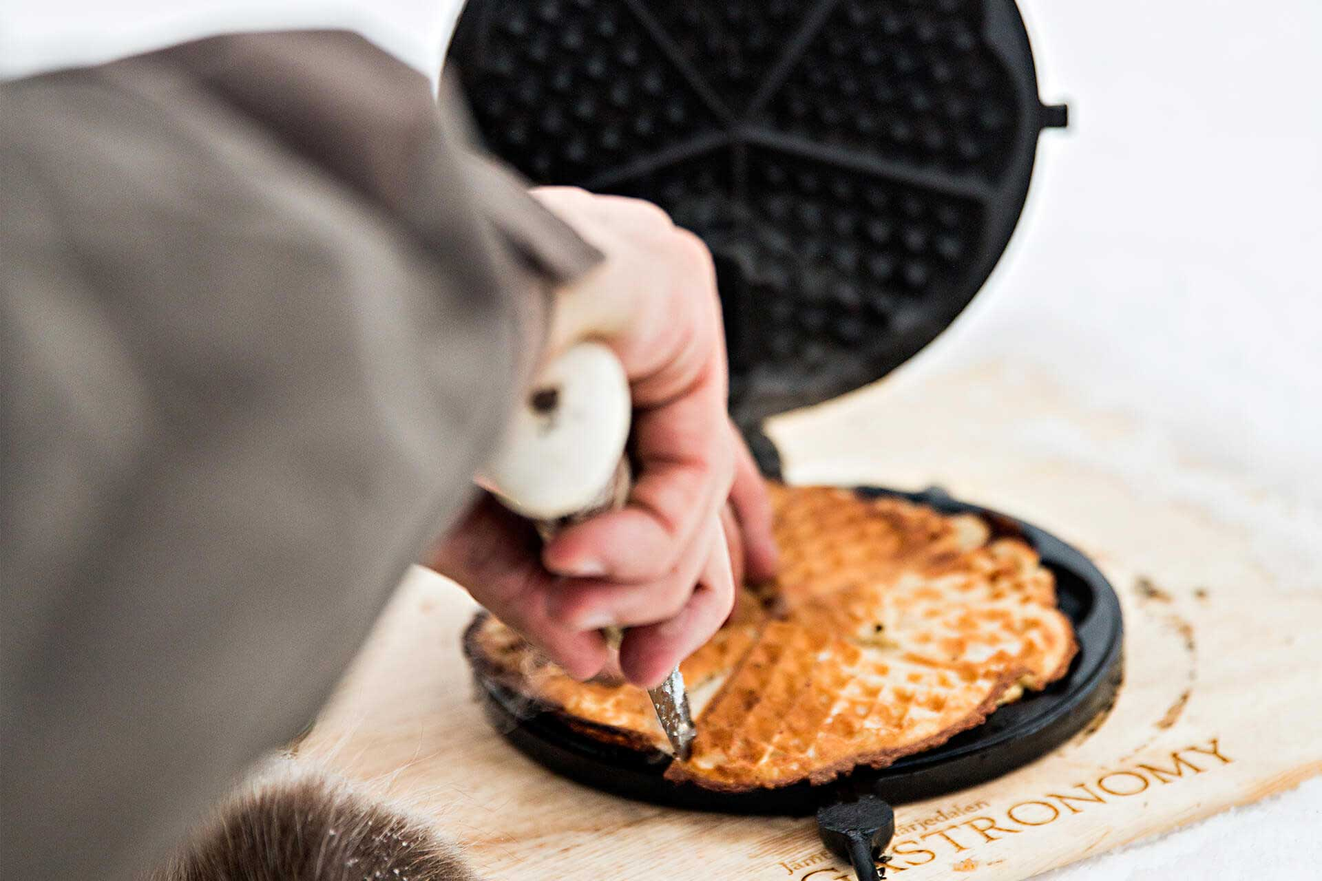 Swedish waffles | Photo: Jonas Kullman