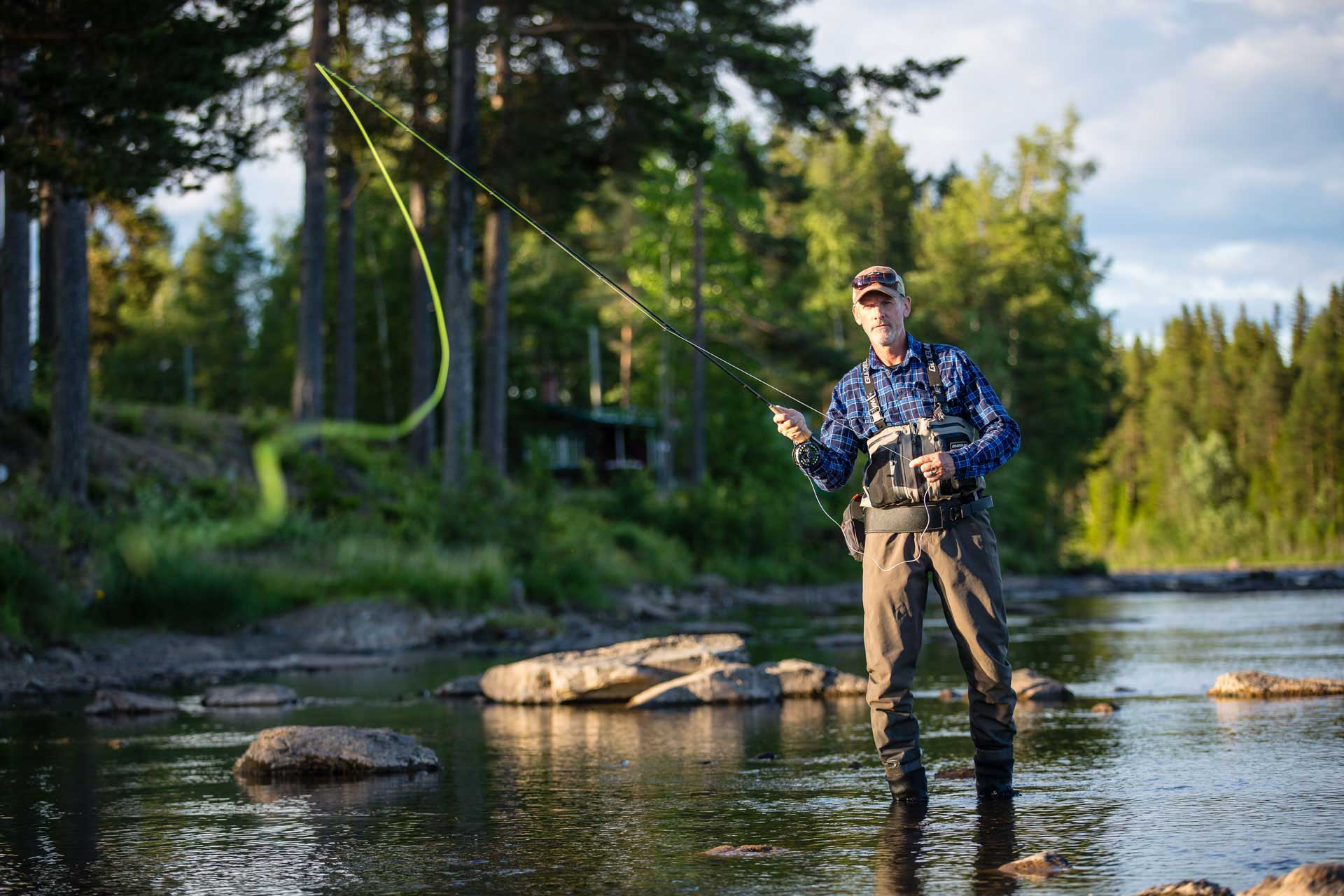 Fly fishing Kvissleströmmarna | Photo: Anette Andersson