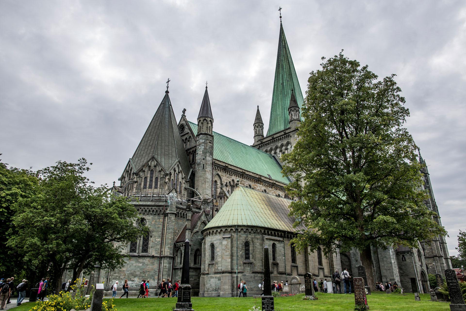 Cathedral Trondheim Nidaros Dome Håkan Wike
