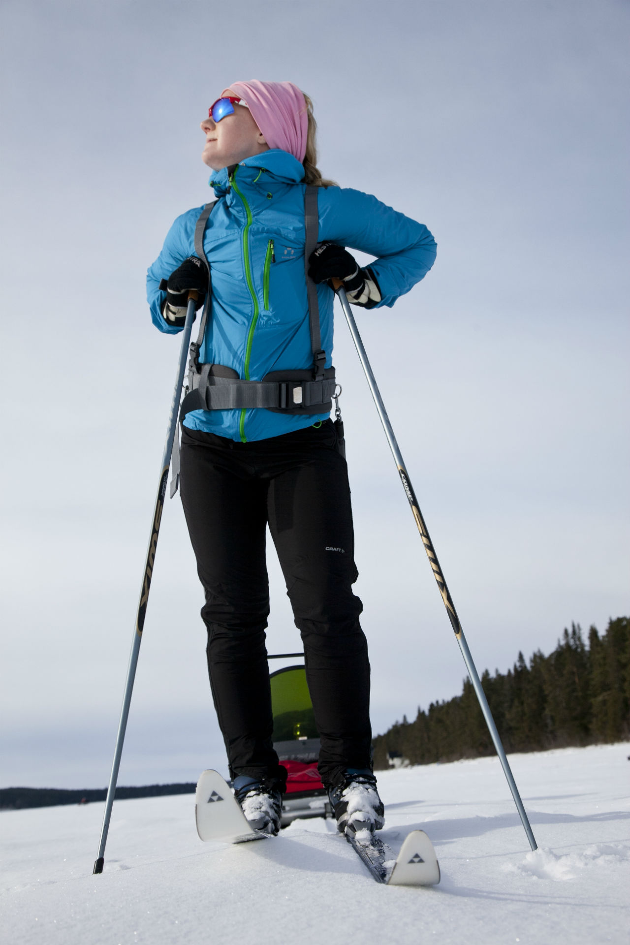 Cross country skiing in Östersund. Photo: Roger Strandberg
