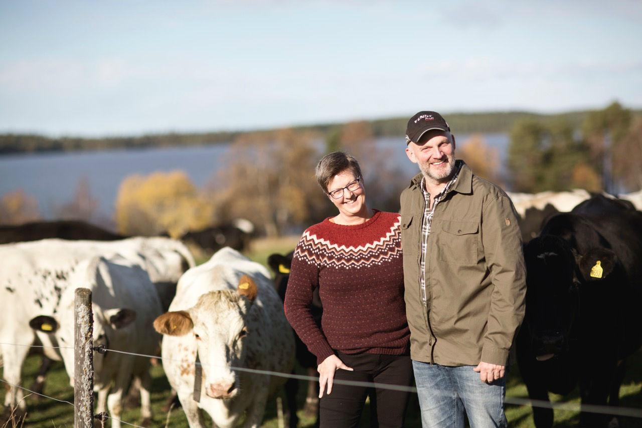 Niklas Camilla Brunkulla farm Östersund