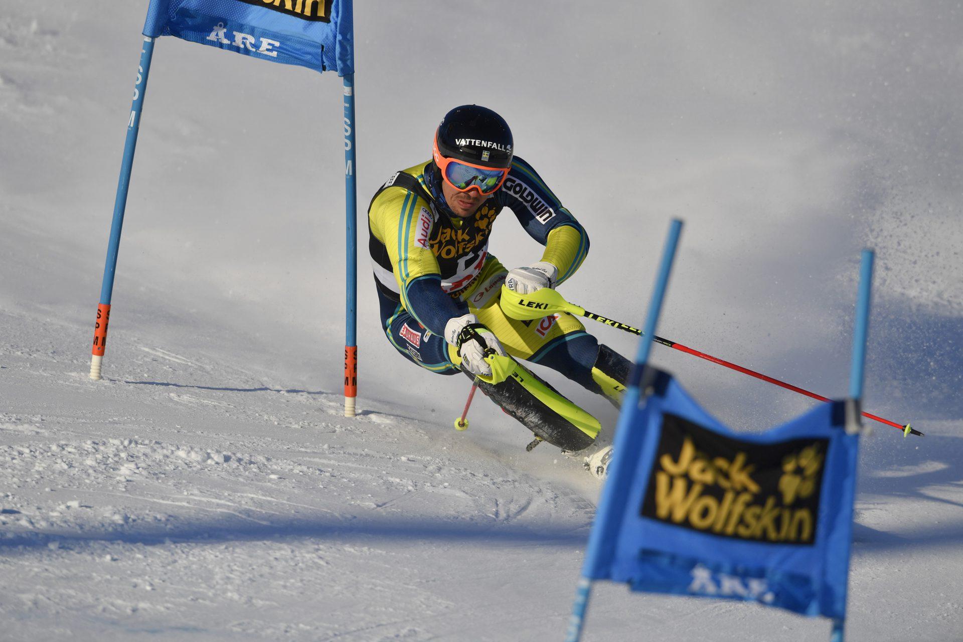 Alpine skier Andre Myhrer