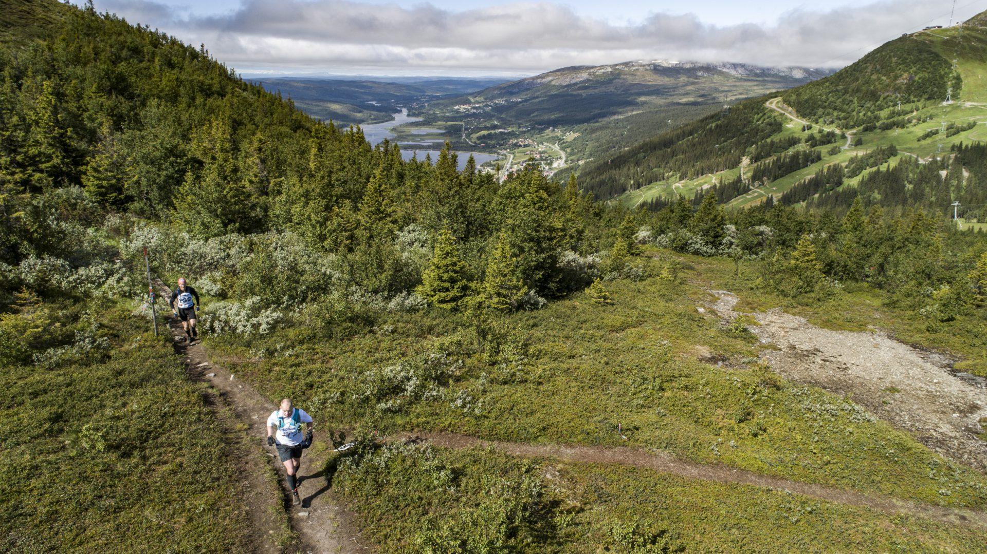Åre Extreme Challenge löpning Håkan Wike