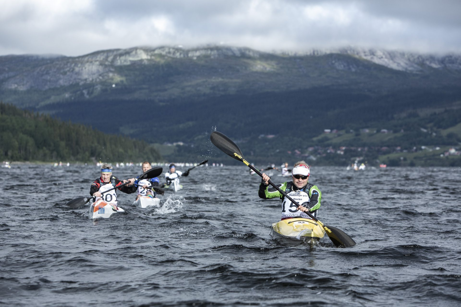 Åre Extreme Challenge paddling Håkan Wike