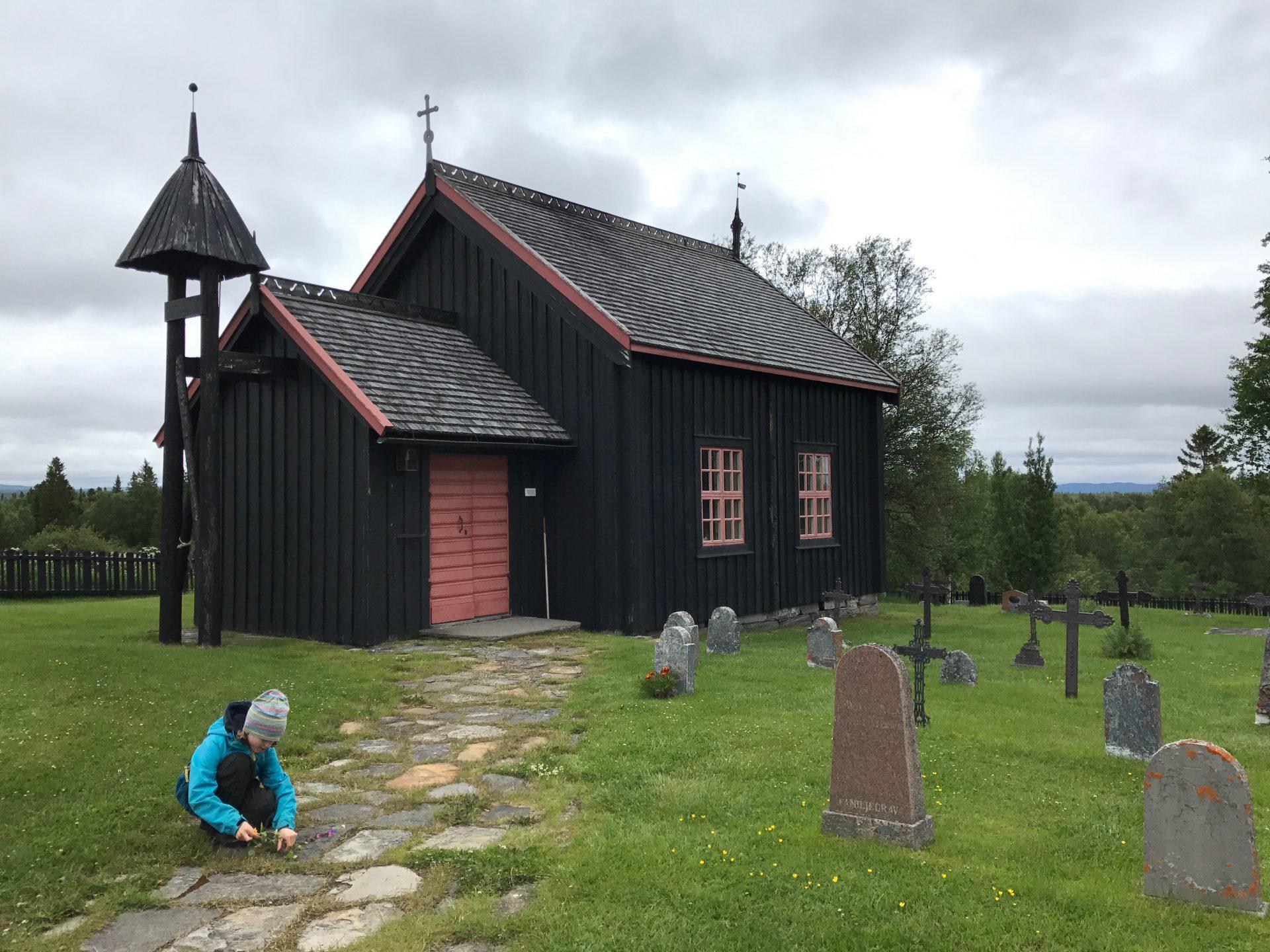 Handöls kapell Maria Wilhelmsson