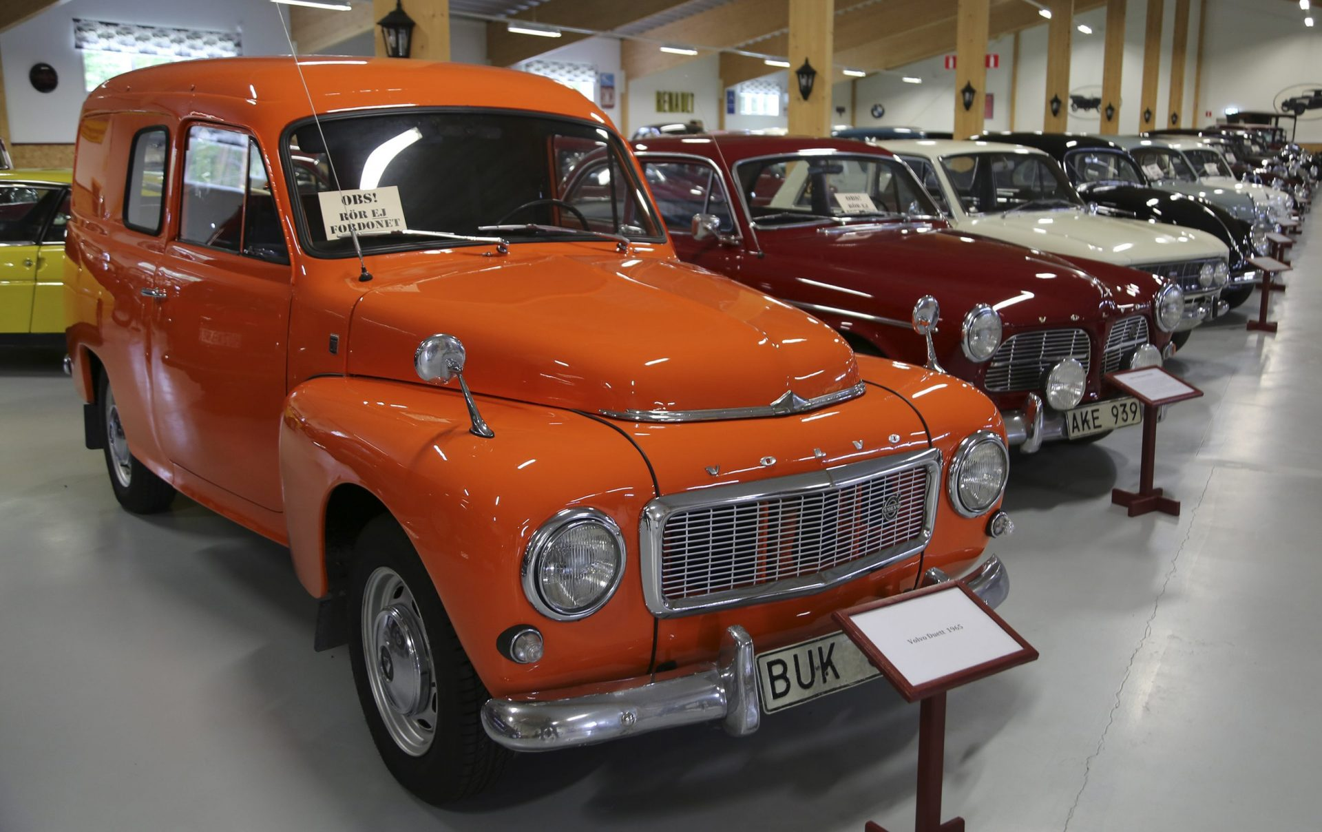 Veteranbilar Hoting bilmuseum Lena Hedman