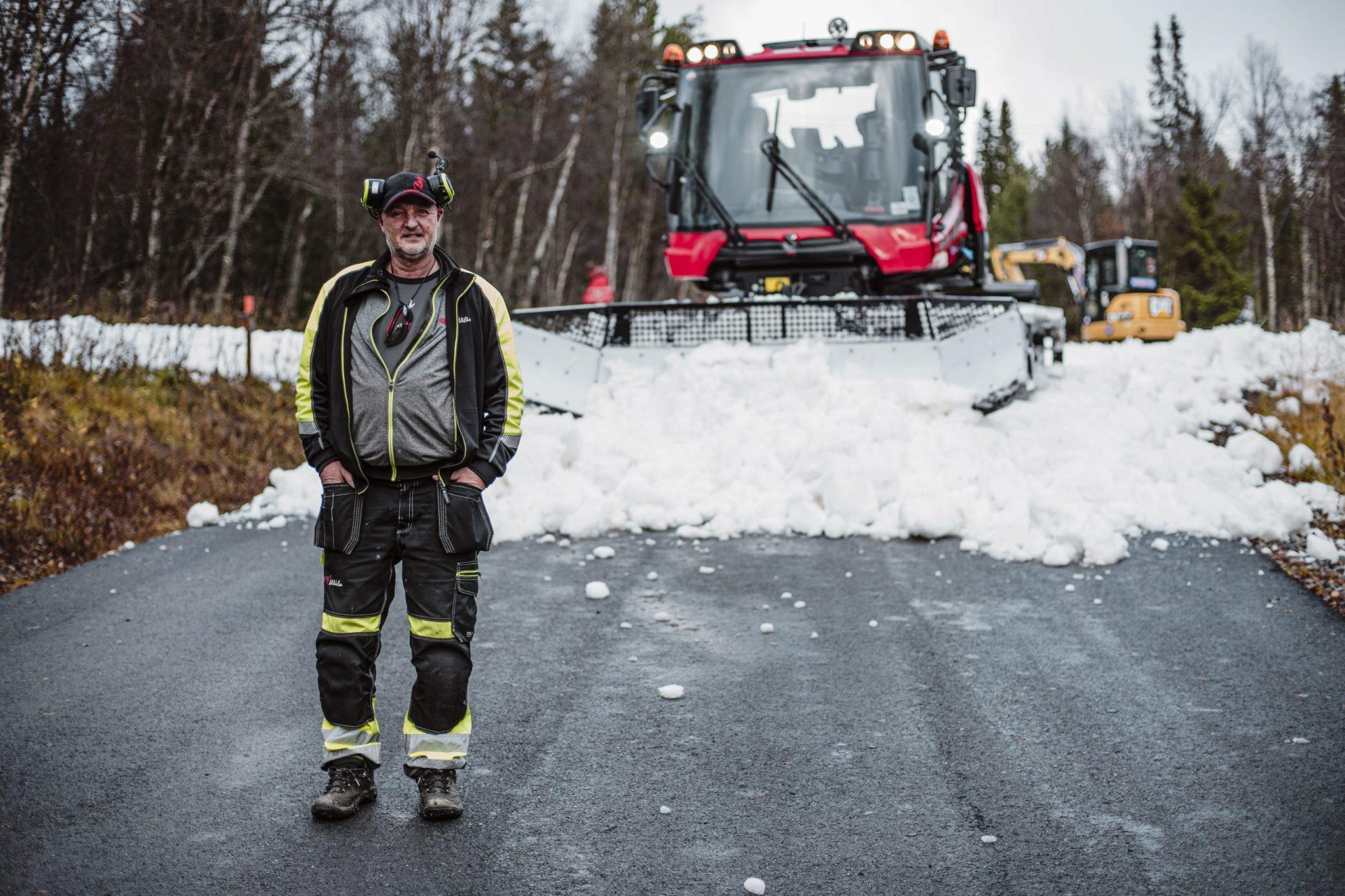 Latti Östlund pistmaskin 2 Mats Lind