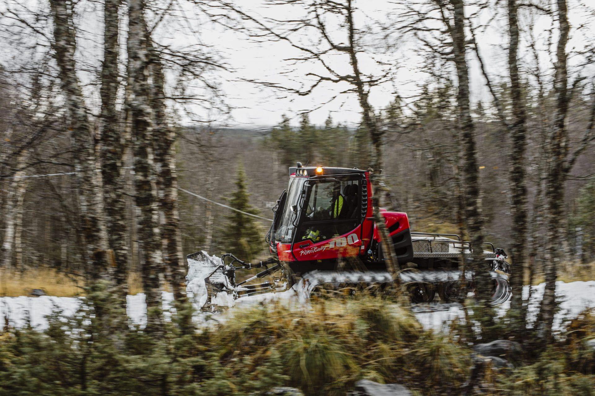 Pistmaskin Vålådalen Mats Lind