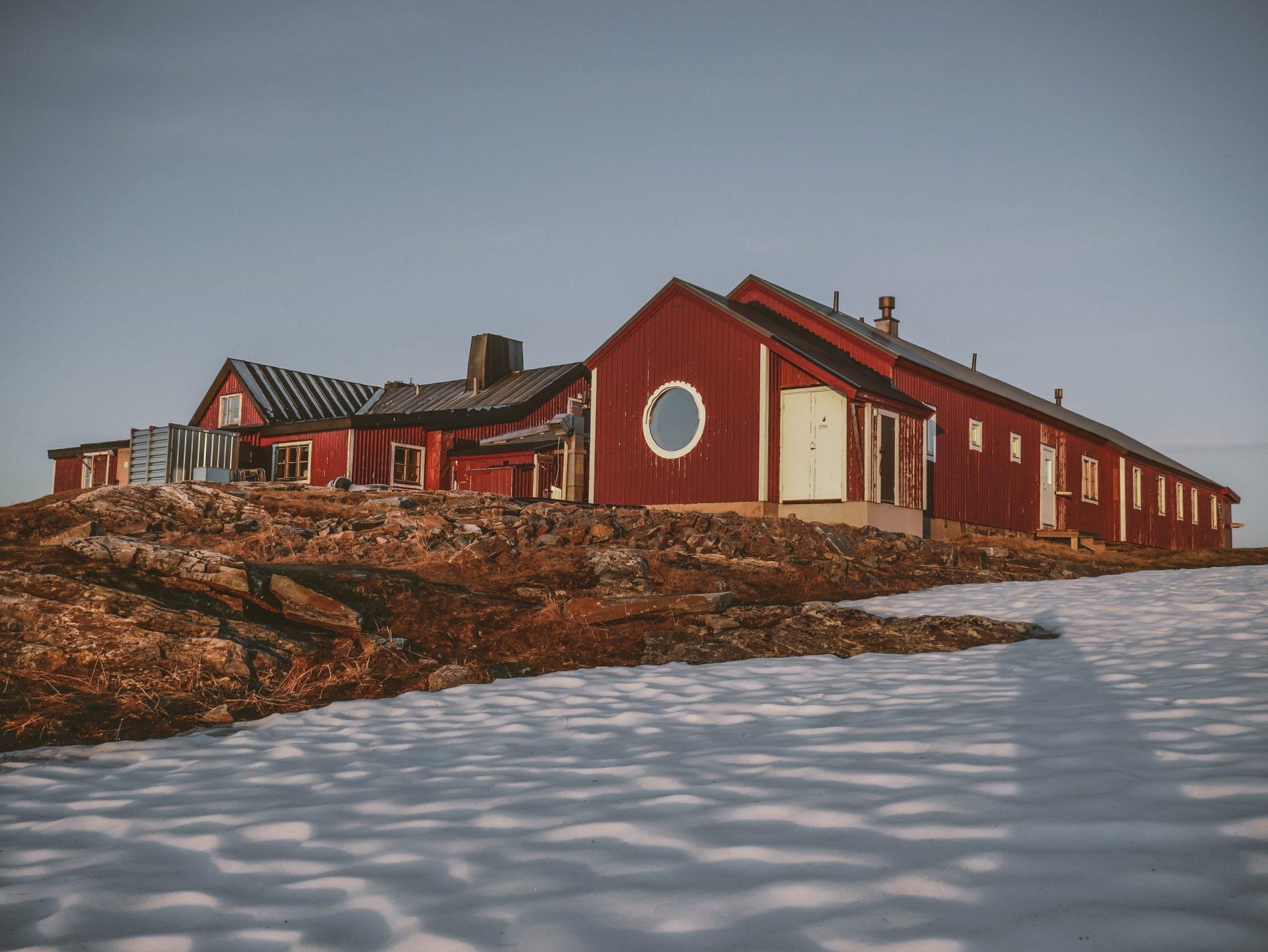 STF Blåhammarens fjällstation Isak Nordqvist