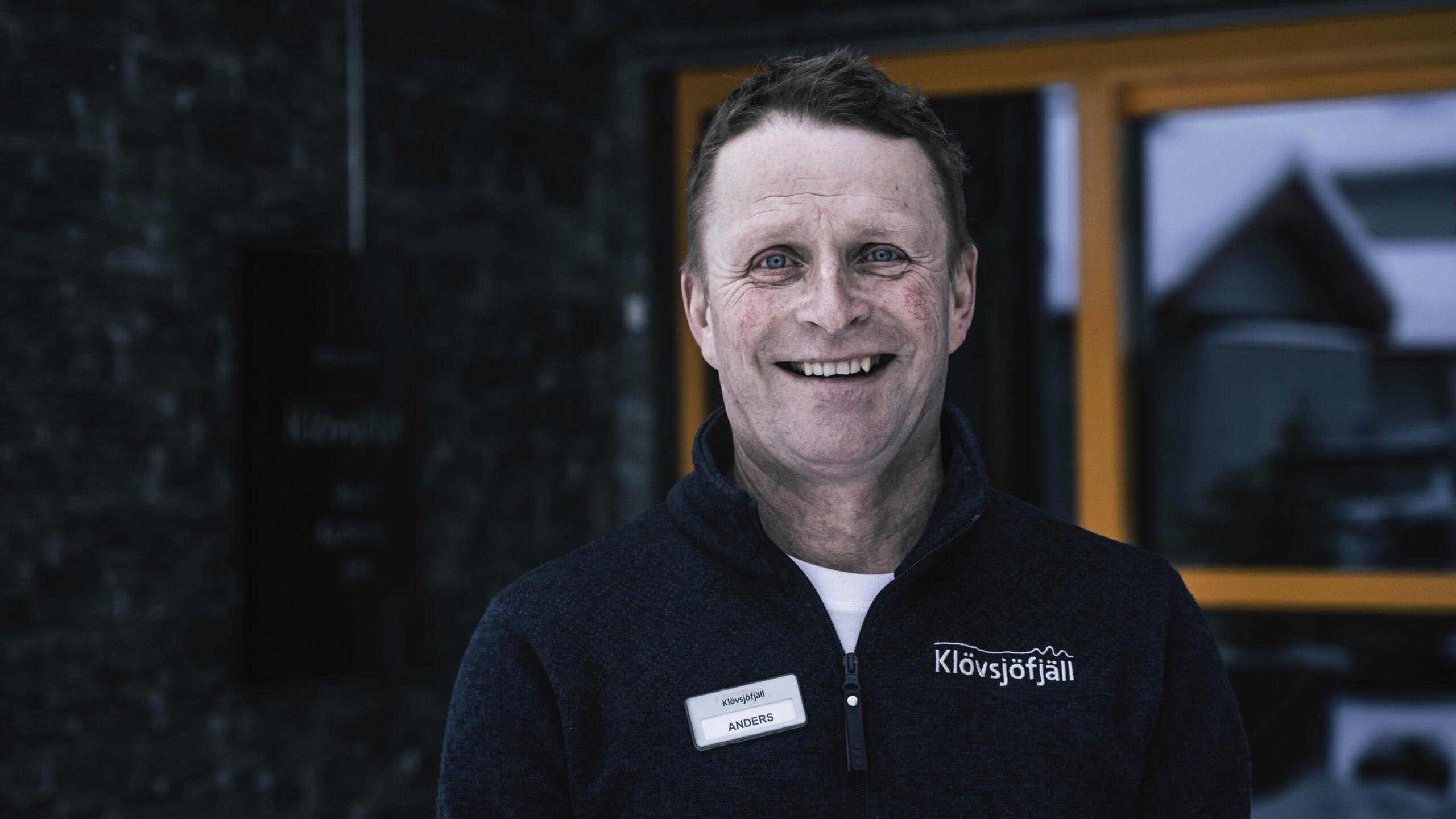 Anders Backskog Klövsjöfjäll. Foto: Mats Lind