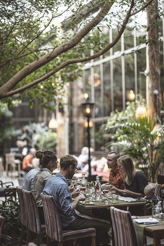 Storhogna högfjällshotell restaurang