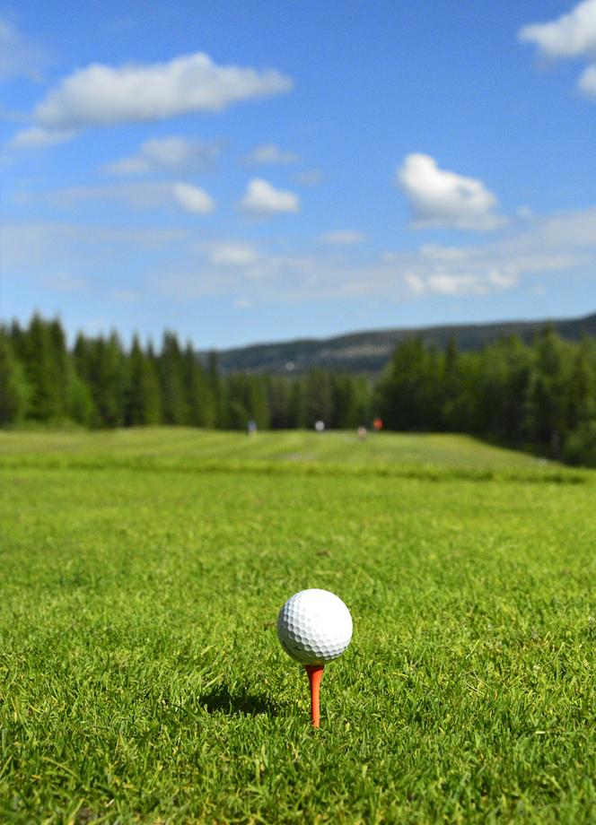 Klövsjö Vemdalen golfbana Karl Vertergård